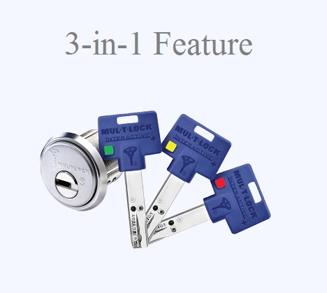 Toronto Locksmith recommends Mul-T-Lock 3-in-1